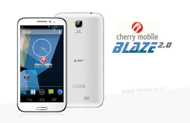 Cherry Mobile Blaze 2.0 MT6589 Official Stock Firmware SP Flash Tool Flash