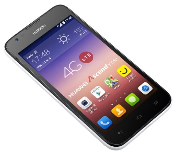Huawei Ascend Y550 Android 4.4 Kitkat Official Stock Firmware Flash Files