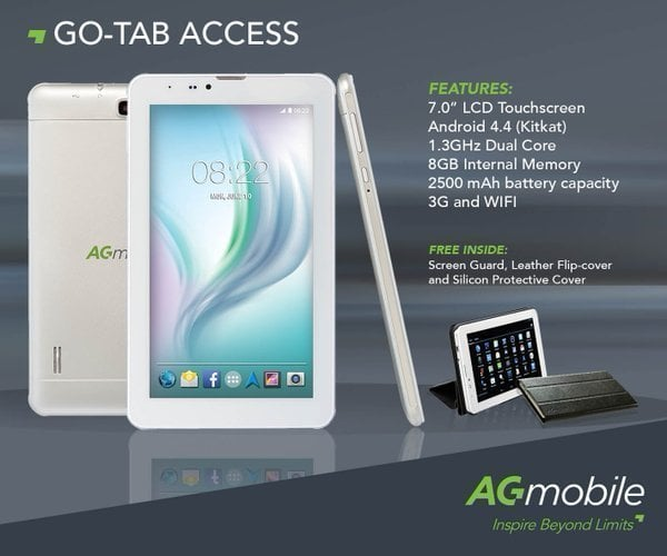 AG Go-Tab Access 2 MT6580 Android 5.0 Official Stock Firmware Sp Flash Tool Files