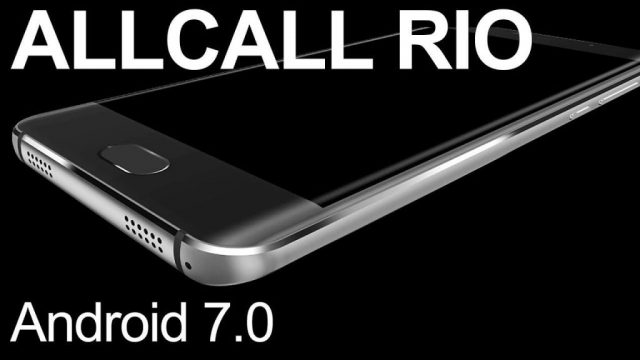 Allcall Rio Android 7.0 Official Stock Firmware SP Flash Tool Files
