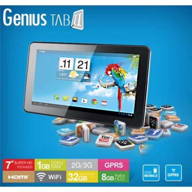 Dany Genius Tab G2 Android 4.0.4 Official Stock Firmware SP Flash Tool Files