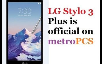 LG Stylo 3 PLUS MP450 Metro PCS Android 7 Nougat Official Stock Firmware Kdz