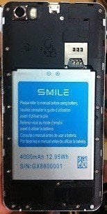 Smile N5 MT6582 Official Stock Firmware SP Flash Tool Files