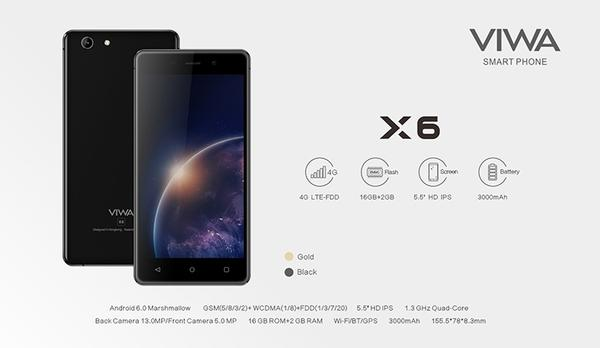 VIWA X6 MT6737M Android 6.0 Official Stock Firmware SP Flash Tool Files