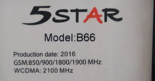 5star B66 MT6572 Android 4.2.2 Official Stock Firmware SP Flash Tool Files