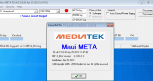 Download Maui META Imei Repair Tool Latest Version