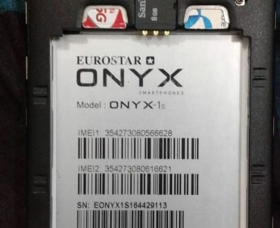Eurostar Onyx-1S MT6580 Android 6 0 Official Stock Firmware