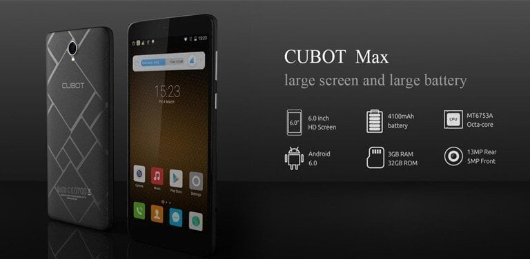 Cubot Max Firmware