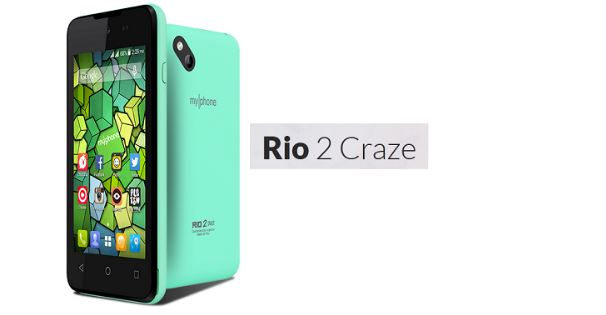 Myphone Rio 2 Craze MT6572 Android 4.4.2 Official Stock Firmware Flash Files