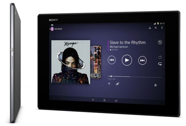 Sony Xperia Z2 Tablet SGP55 Firmware