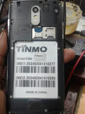 TINMO F300 MT6572 Android 4.2.2 Official Stock Firmware SP Flash Tool Files