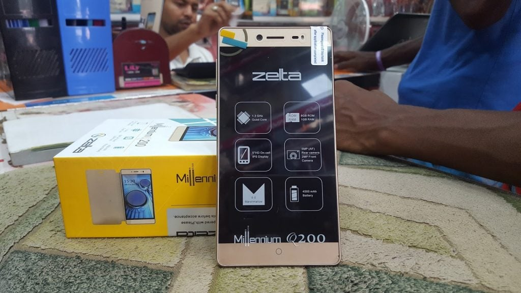 Zelta Q200 MT6580 Android 6.0 Official Firmware Flash Files
