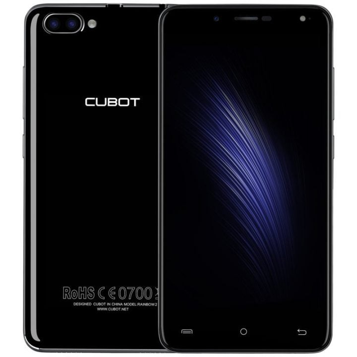 Cubot Rainbow 2 MT6580 Android 7.0 Official Stock Firmware Flash Files