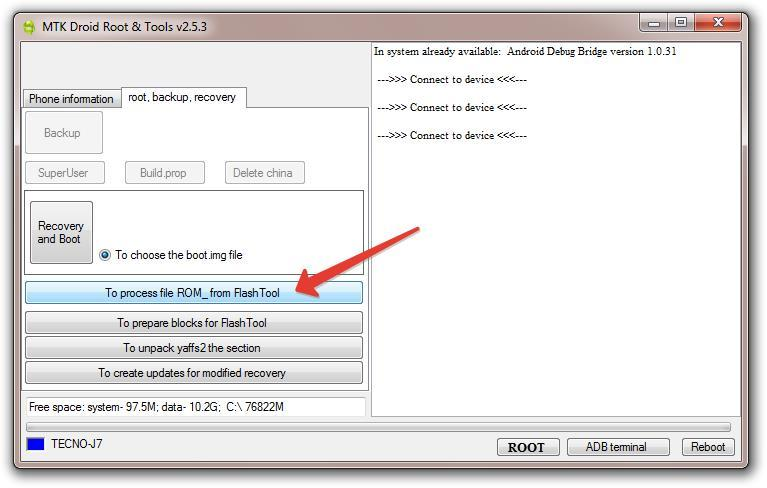 How To Backup MTK Android Firmware 12