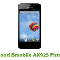 Bmobile AX925 MT6580 Android 7.0 Flash Files