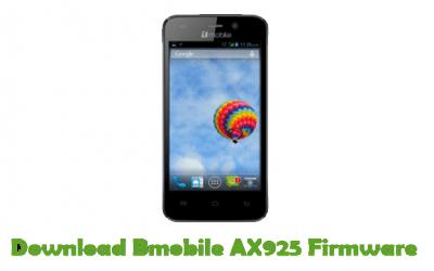 Bmobile AX925 Firmware