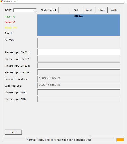 Download WriteIMEI Tool 1
