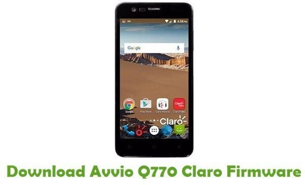 Avvio Q770 Digicel MT6580 Flash Files