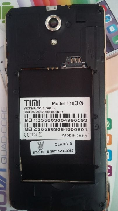 Timi T10 MT6572 Android 4.4.2 Official Firmware Flash Files