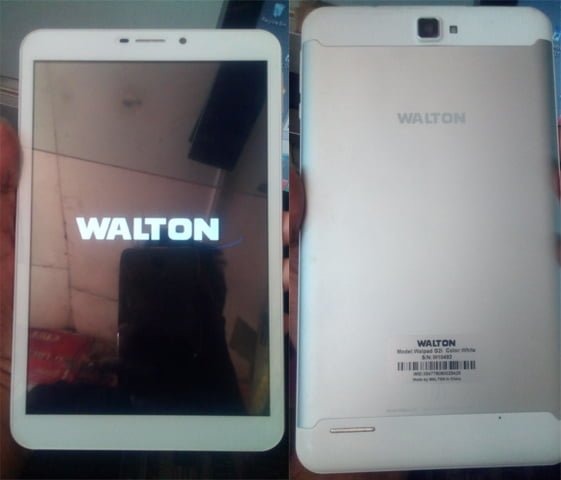 Walton WALPAD G2I MT6580 Official Firmware Flash Files