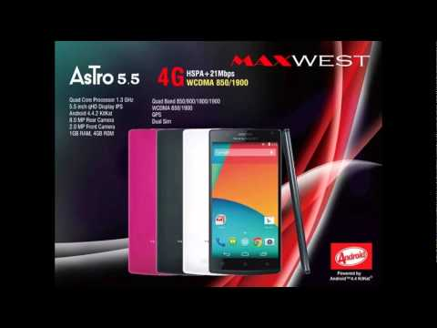 MAXWEST ASTRO 5.5 MT6580 Official Firmware Flash Files