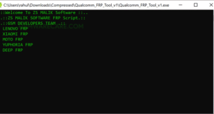 Download Qualcomm FRP Tool