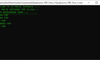 Download Qualcomm FRP Tool