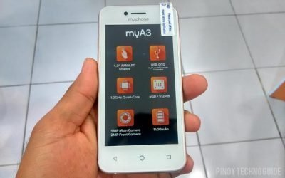 MyPhone MYA3 Firmware
