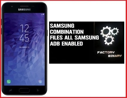 Samsung Galaxy J3 Orbit SM-S367VL Combination Files