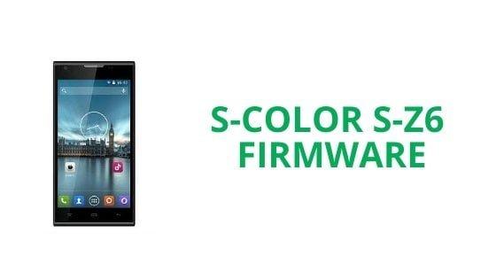 S-Color S-Z6 Firmware