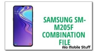 Samsung SM-M205F Combination File [Galaxy M20]