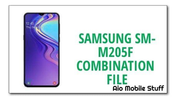Samsung SM-M205F Combination File [Galaxy M20]