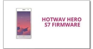 Hotwav Hero S7 Firmware
