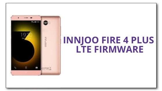 Innjoo Fire 4 Plus LTE Firmware