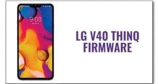 LG V40 ThinQ Firmware