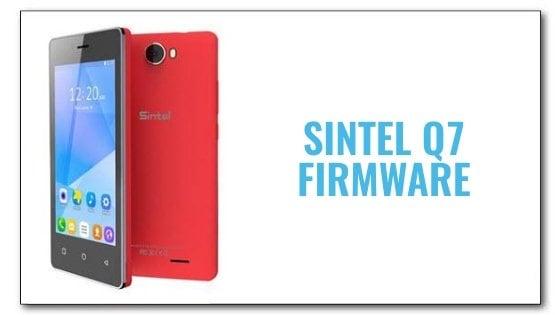 Sintel Q7 Firmware | Aio Mobile Stuff