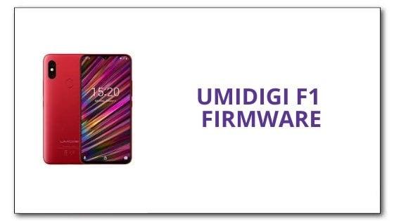 Umidigi F1 Firmware