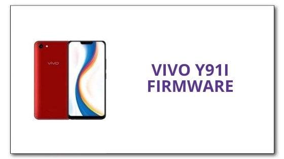 VIVO Y91i Firmware