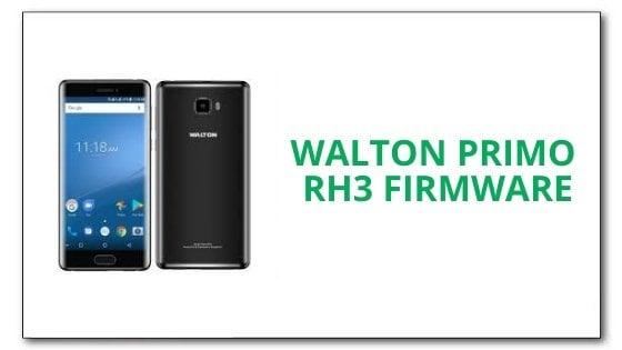 Walton Primo RH3 Firmware