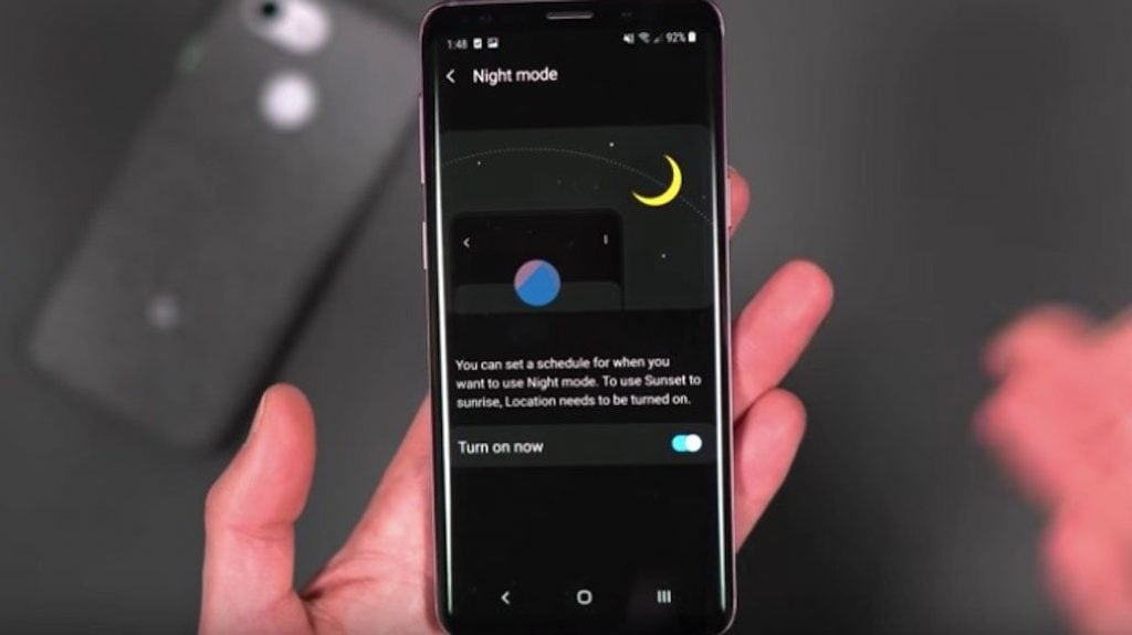 The Final Version of Android Pie for Galaxy S9 Misses some Night Mode Features 1