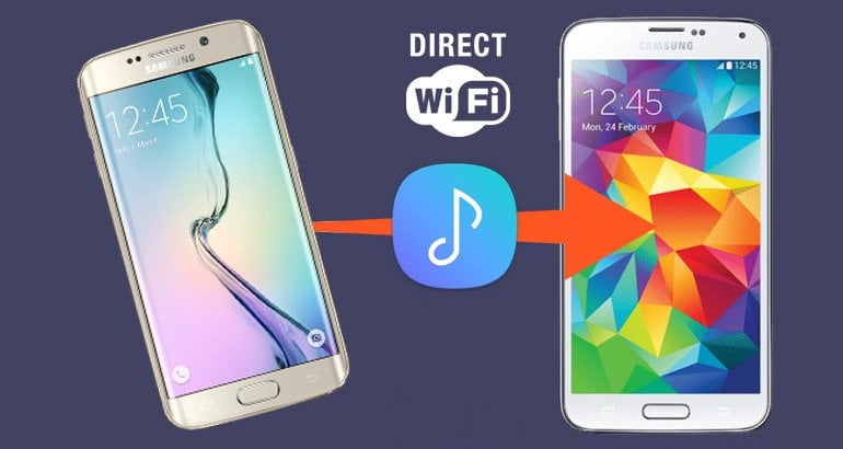 How to Use WiFi direct on Samsung to transfer files 2