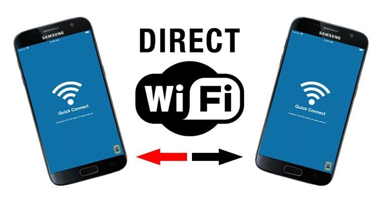 How to Use WiFi direct on Samsung to transfer files
