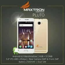 Maxtron Pluto Prime Firmware