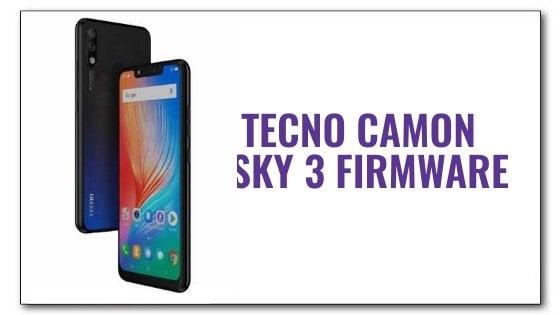 Tecno Camon iSky 3 Firmware File [Stock ROM] | Aio Mobile Stuff
