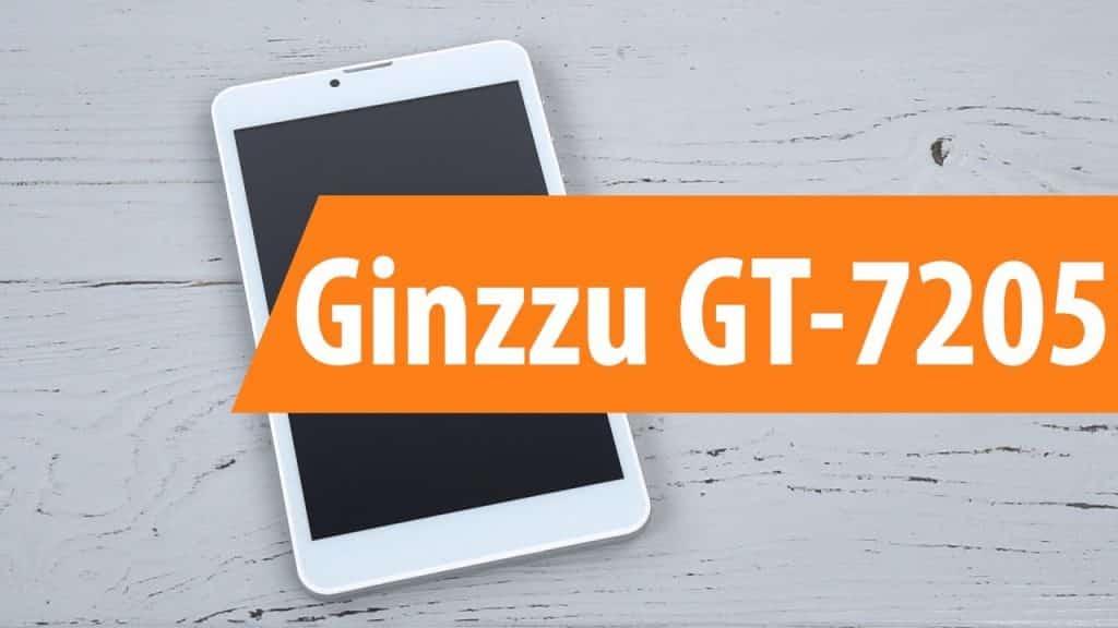 Ginzzu GT 7205 Firmware