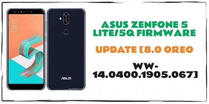 Asus ZenFone 5 Lite5Q Firmware