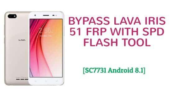 Bypass Lava iris 51 Frp