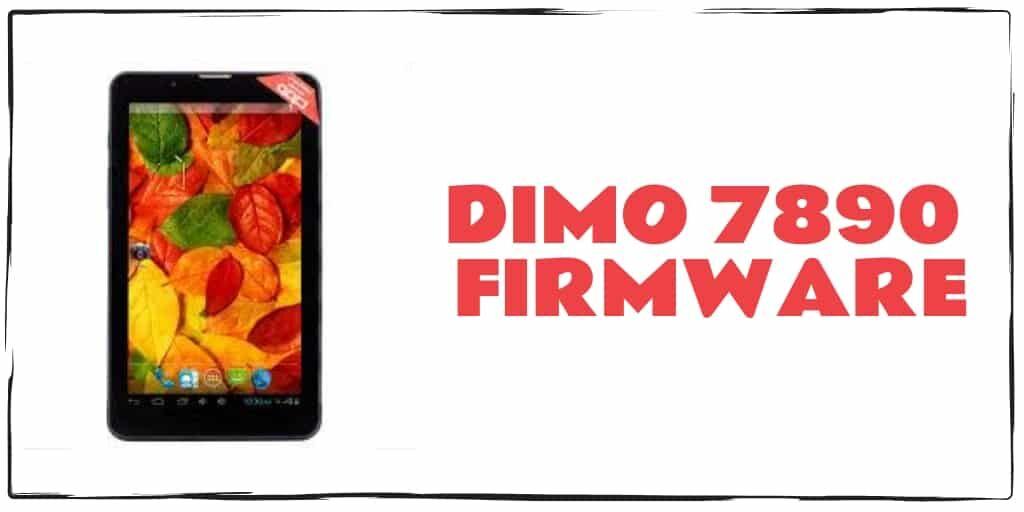 DiMO 7890 Firmware