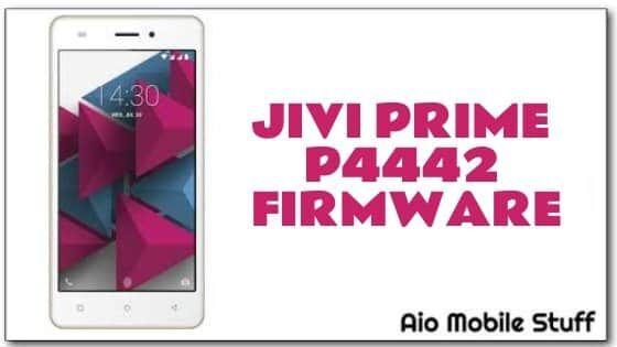 Jivi Prime P4442 Firmware