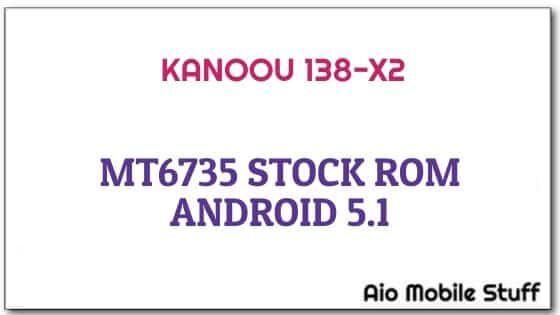 Kanoou 138-X2 Firmware